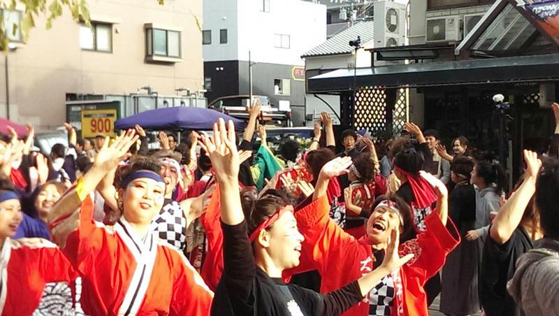 アクティブ20周年鳴子踊り 総踊り