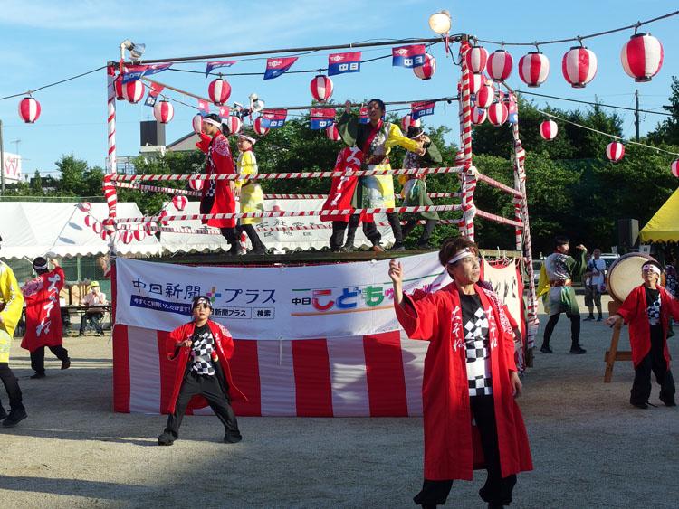 2018年 アクティブ大曽根 大杉小学校 盆踊り